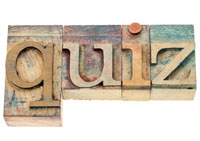 Monthly Quiz